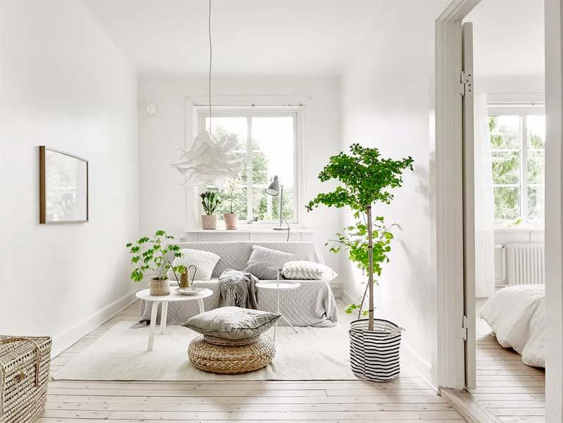 IKEA Krusning / Sekond hanglamp boven salontafel