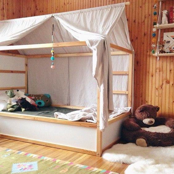 IKEA Kura bed hemelbed