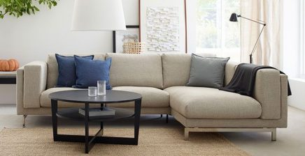 ikea nockeby bank inrichting. Black Bedroom Furniture Sets. Home Design Ideas