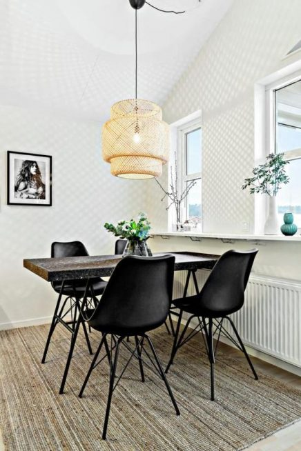 ikea sinnerlig hanglamp inrichting. Black Bedroom Furniture Sets. Home Design Ideas