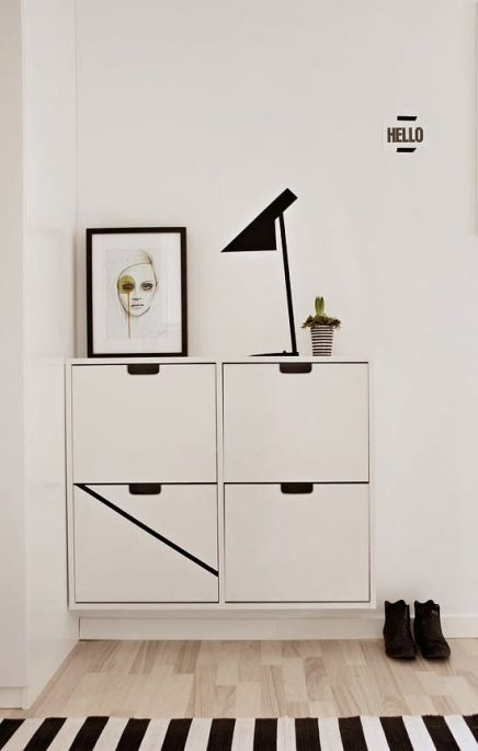 ikea schoenenkast inrichting. Black Bedroom Furniture Sets. Home Design Ideas