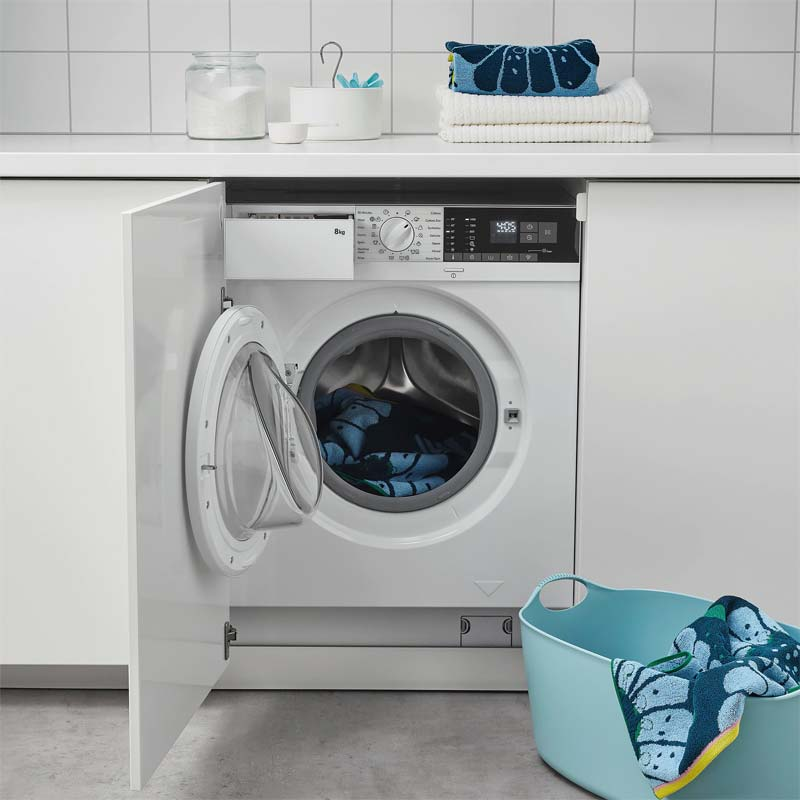 ikea wasmachine in enhet keuken