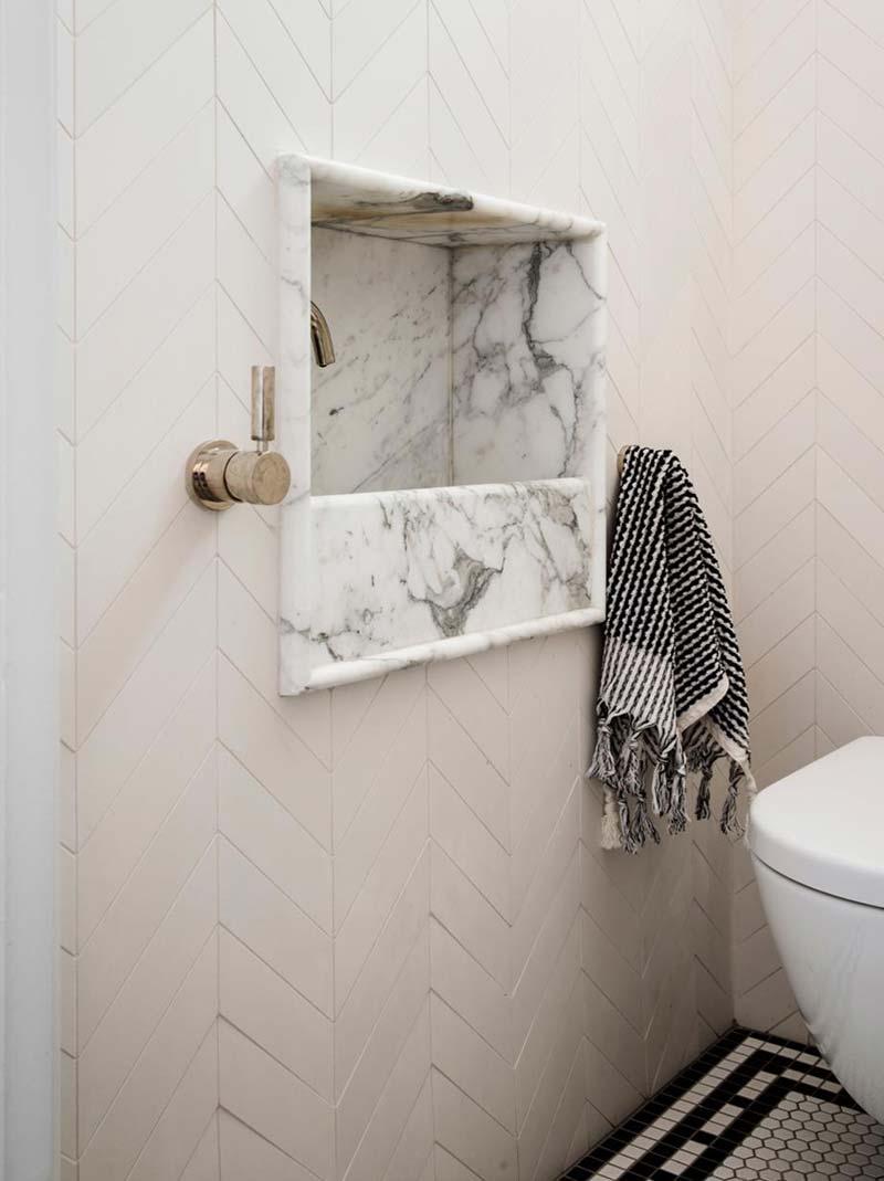 inbouw fonteintje toilet