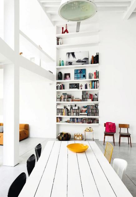 Inbouwboekenkast woonkamer