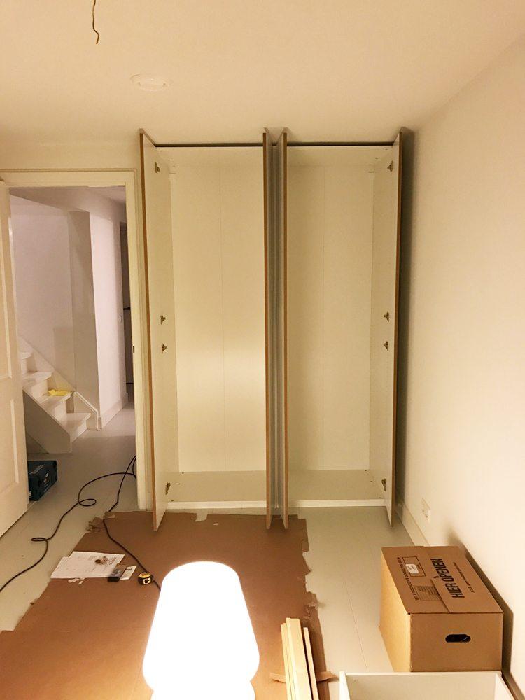 Inbouwkast met IKEA PAX   Inrichting huis com