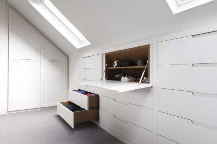 Kast Schuine Wand : Inbouwkast in schuine wand inrichting huis