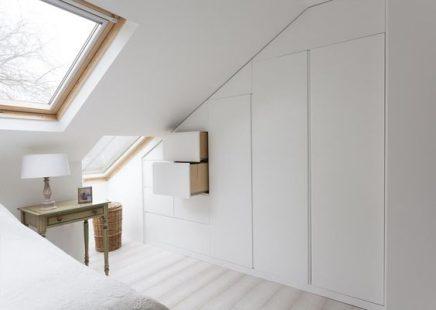 Inbouwkast In Schuine Wand Inrichting Huis Com