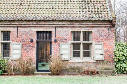 Indrukwekkende verbouwing van oude boerderij in België