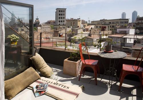 Industrieel balkon