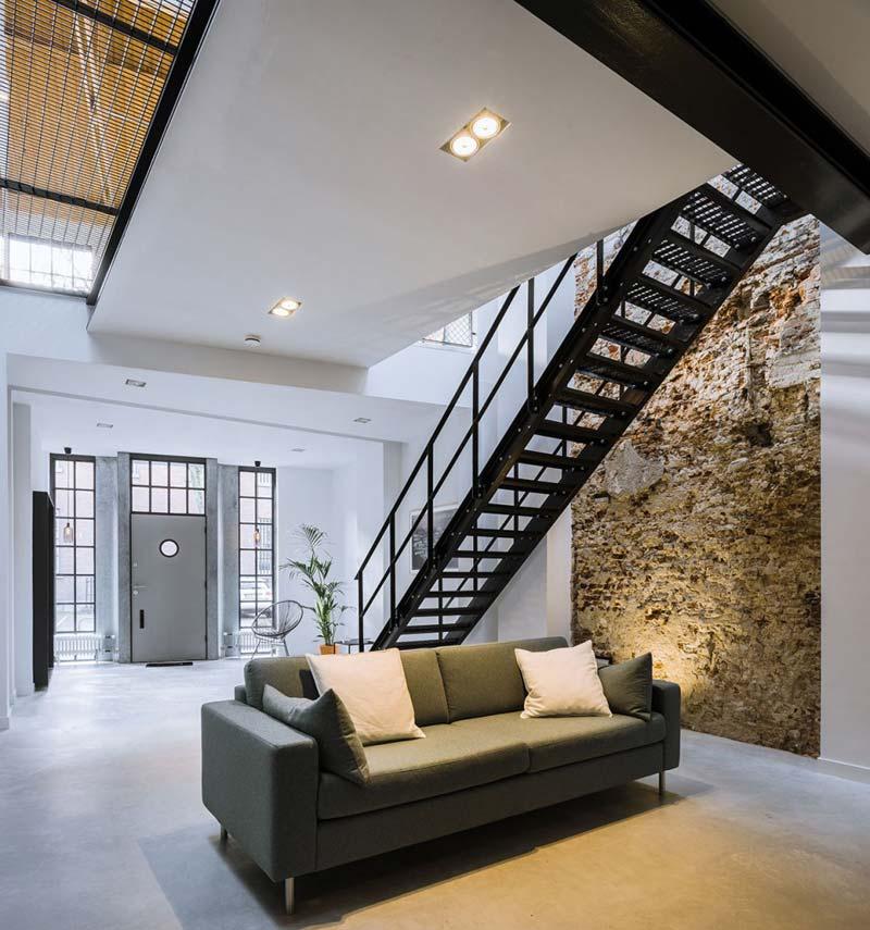 industrieel interieur kleuren loft