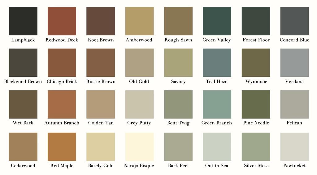 Industrieel interieur kleuren