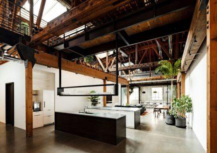 industrieel kantoor