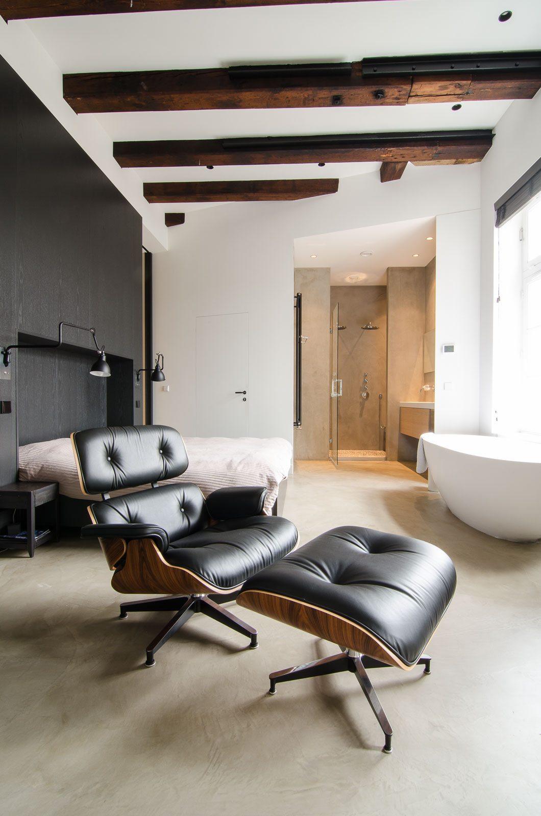 Industrieel loft appartement van 150m2 uit amsterdam for Loft appartement