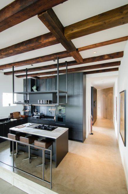 Industrieel loft appartement van 150m2 uit amsterdam inrichting - Indeling m studio ...
