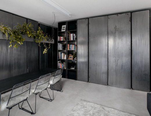 Industrieel mini loft appartement van 35m2
