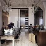 Keuken: rustiek, maar industrieel