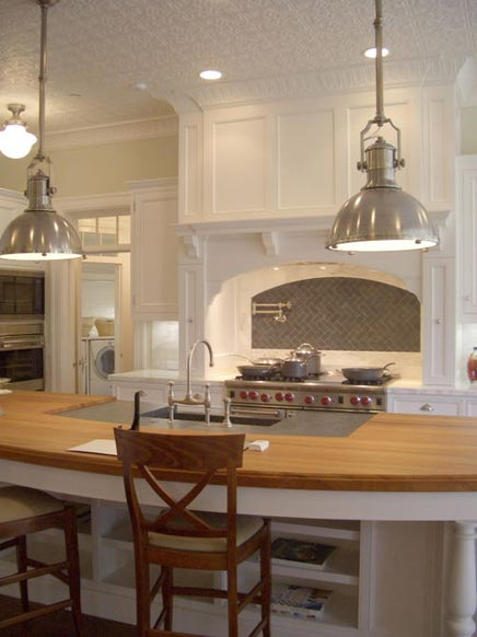Industriele Hanglamp Keuken : Hanglampen Keuken : Industriele hanglamp zilver keuken Straluma