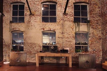 Industriele interieur inrichting van Philip & Leona
