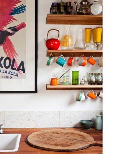 Industriële keuken van architect Emilio Fuscaldo