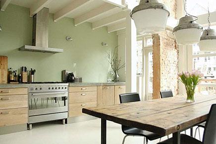 Industriële keuken uit rotterdam inrichting huis