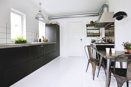 Industriele Open Woonkeuken : Industriële open woonkeuken inrichting huis