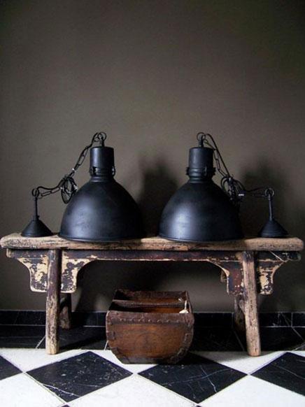 Retro slaapkamer lampen : 5x Industriële lampen Inrichting huis com