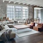 Industri le woonkamer van mede oprichter tumblr inrichting for Industriele loft