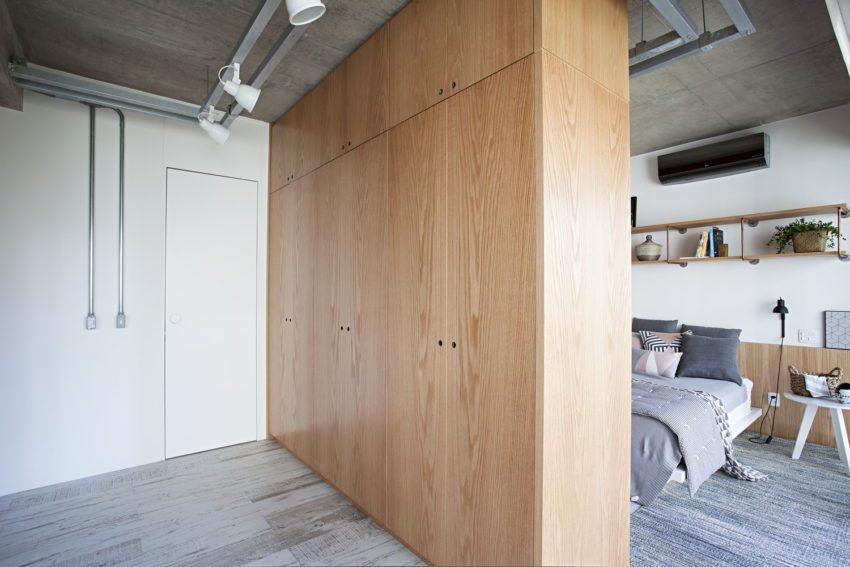 Inloopkast In Badkamer : Industriële slaapkamer met een inloopkast én badkamer u obsigen