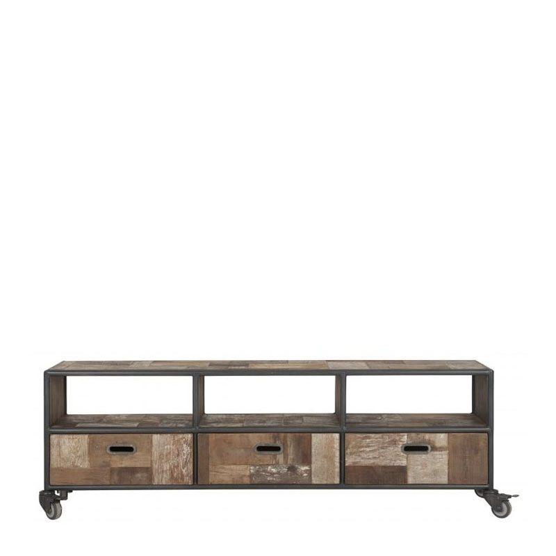 industriële tv meubel