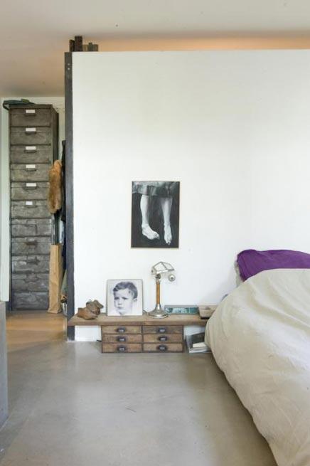 Industriële vintage huis inrichting in Parijs  Inrichting-huis.com