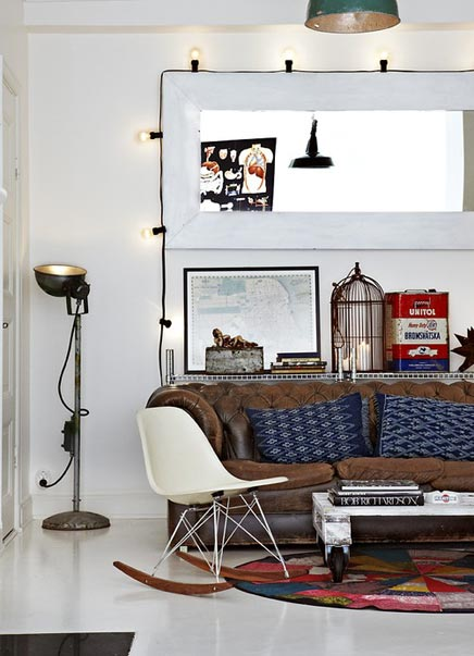 Industriele, vintage inrichting van Dusty Deco