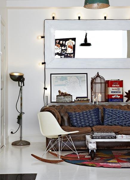 Industri le vintage inrichting van dusty deco inrichting - Deco modern huis ...