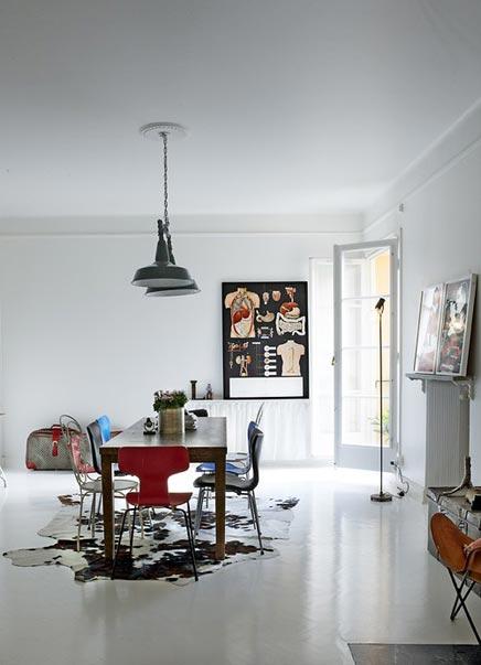 Industri le vintage inrichting van dusty deco inrichting - Deco huis ...