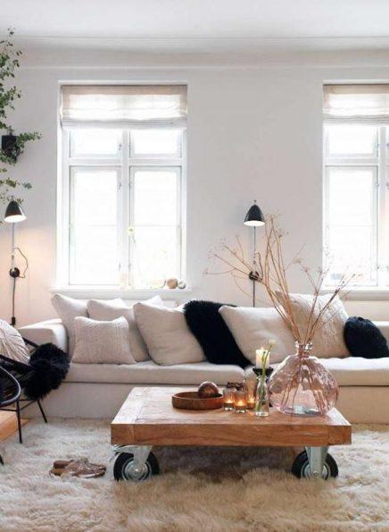 Industriiele wandlampen woonkamer