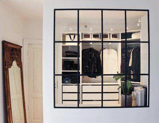 Inloopkast van fashionista Christina uit Kopenhagen