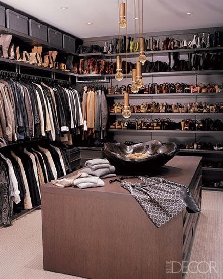 Begehbarer Kleiderschrank Juwelier Designer Loree Rodkin