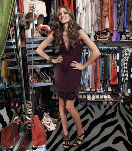 Begehbarer Kleiderschrank von Olivia Palermo