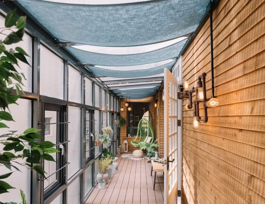 Dit inpandig balkon overtreft alles!