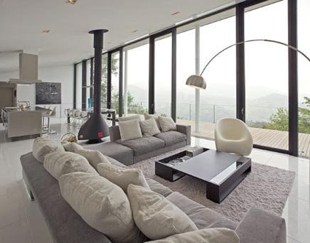 Moderne vintage woonkamer in Curitiba | Inrichting-huis.com
