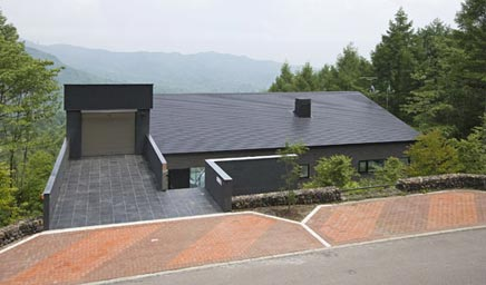 Inrichting van het I-house in Japan