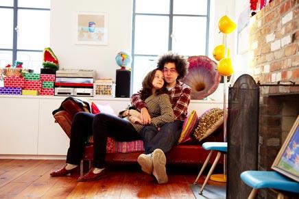 Happy inrichting van het huis van Melia en Frank