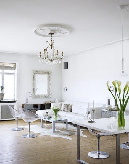Hun prachtige huis is gelegen in Charlottenlund, een klein dorpje net ...