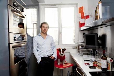 Inrichting huis van Sébastien Gaudard