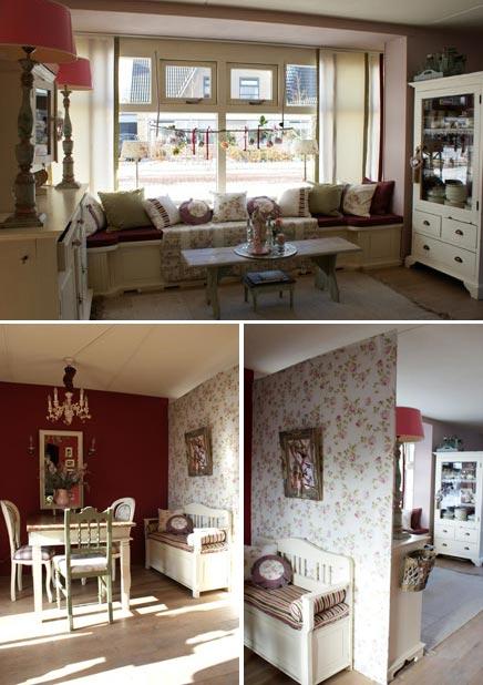 Inrichting van het huis van Jeanette Westerhof