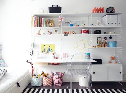 Inrichting van de kinderkamer van pisarapilvi inrichting - Kinderkamer ruimte ...