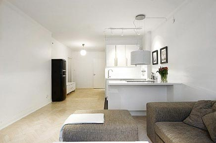Inrichting klein appartementappartement