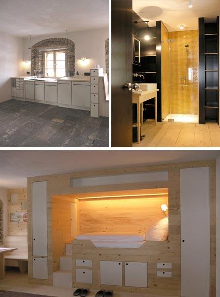 Inrichting van Moormannberge hotel