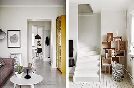 Inrichting van een Scandinavische woonkamer