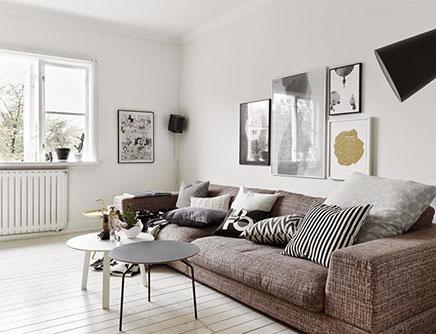 Inrichting van een Scandinavische woonkamer | Inrichting-huis.com