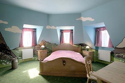 Inrichting slaapkamer Fox hotel